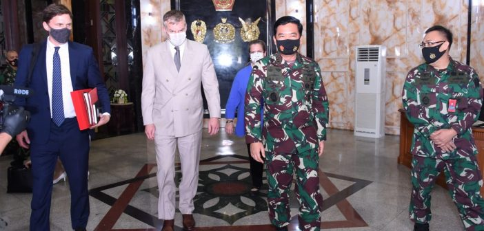 Panglima TNI Terima Kunjungan US Under Secretary of Defense for Policy, Kerja Sama Pendidikan Diteruskan