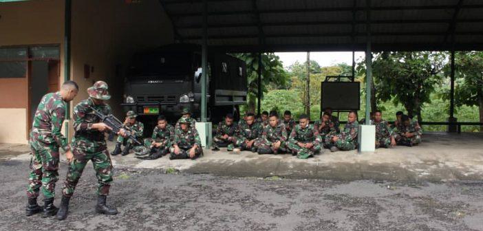 Kemampuan Harus Dipelihara, Prajurit Kikav 8 Kostrad Laksanakan Latihan Perorangan Umum