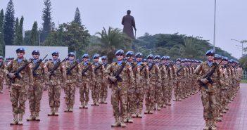 Pelepasan Kontingen Garuda, Misi PBB Akan Berjalan Baik dengan Prinsip To Win Heart and Mind