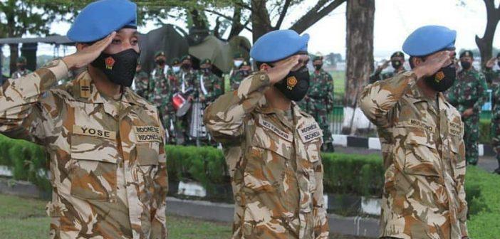Komandan Yonif Raider 413 Kostrad Sambut 3 Prajuritnya yang Kembali dari Penugasan Misi Perdamaian di Kongo