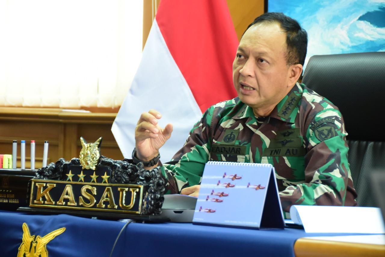 KSAU Marsekal TNI Fadjar Prasetyo Minta Komandan Satuan Kenali Limitasi  Anggotanya - Mylesat