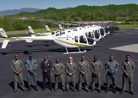 Tembus Produksi ke-300, Bell Kirim Helikopter Bell 505 Jet Ranger X Pesanan Jamaika