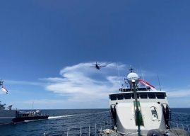Latihan Perang di Laut Sulawesi, TNI AL Kerahkan Tiga KRI dan Satu Pesawat NC-212